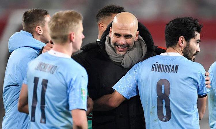 Guardiola menikmati rekor City
