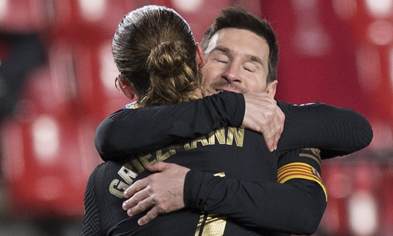 Apakah Messi mulai menerima Griezmann?