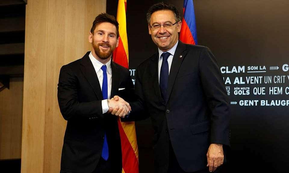 Bartomeu: 'Saya tidak mengungkapkan kontrak Messi'