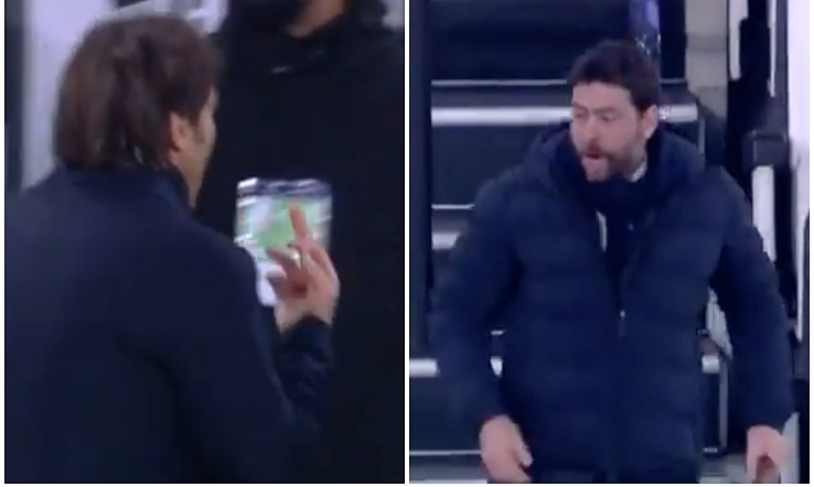 Conte mengangkat 'jari busuk' kepada pemimpin Juventus