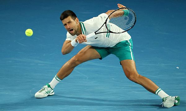 Djokovic memenangkan pertandingan ke-300 di Grand Slam