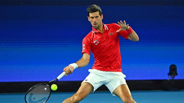 Djokovic tidak bisa menyelamatkan Serbia di Piala ATP