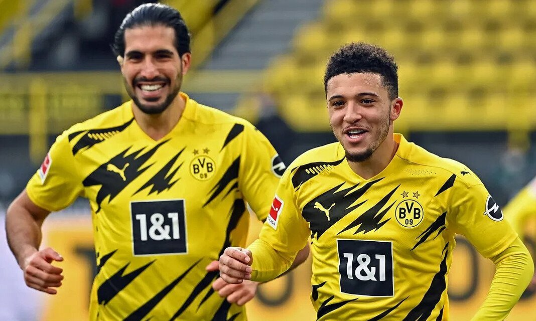 Dortmund menang banyak, meski Haaland terpana