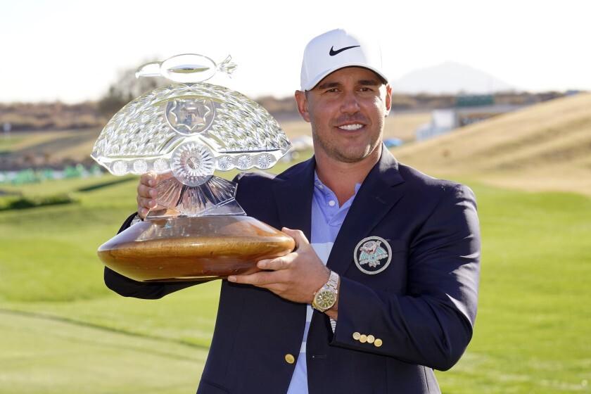 Koepka di hulu memenangkan Phoenix Open