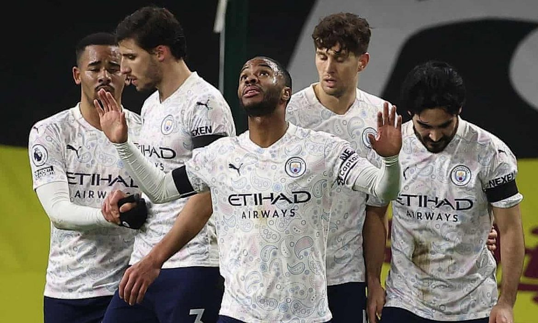 Man City memenangkan pertandingan ke-13 berturut-turut