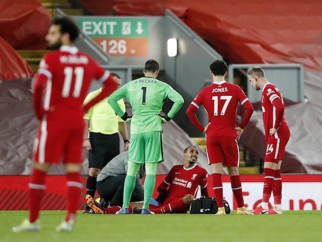 Liverpool kehilangan gelandang ketiganya hingga akhir musim
