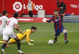 Messi membantu Barca mendekati puncak La Liga