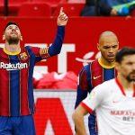 Messi melampaui Lewandowski sejak awal 2021