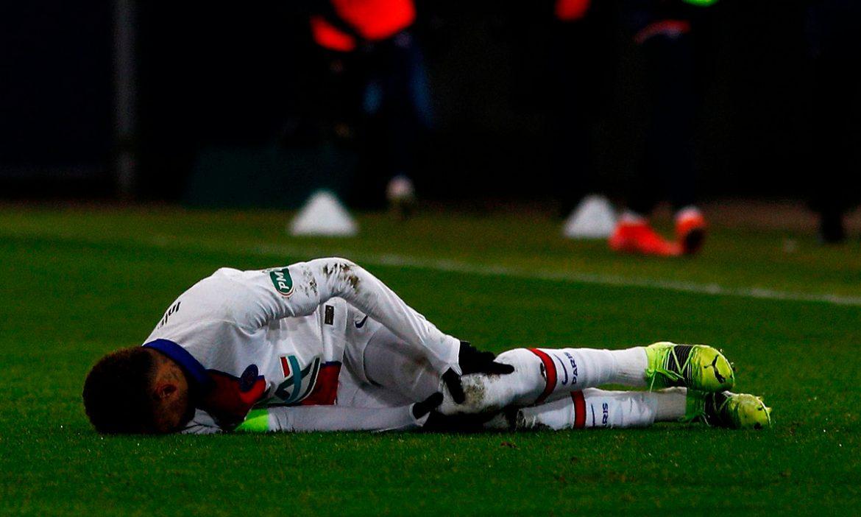 Neymar berisiko melewatkan perang hebat Barca