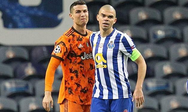 Pepe: 'Porto telah menangkap Juventus'