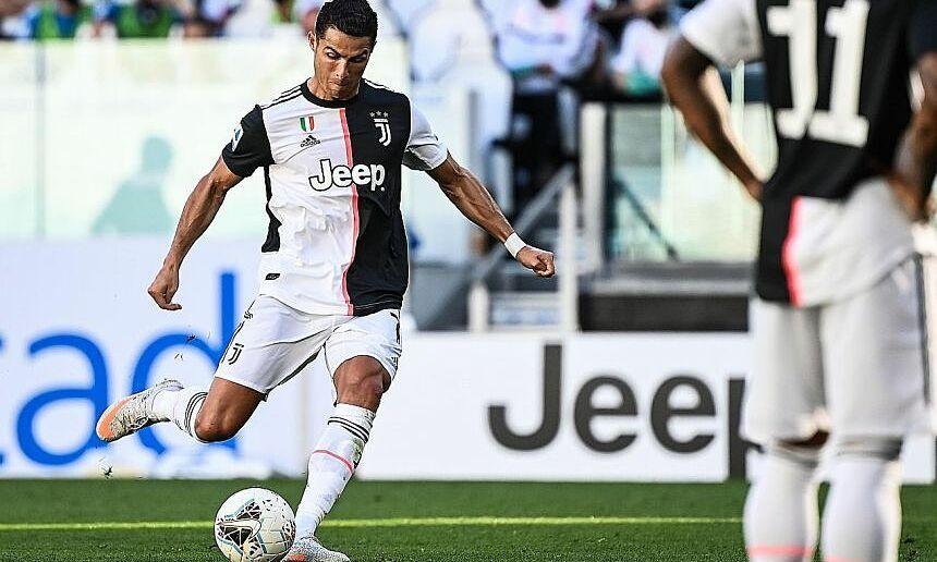 Juventus haus dari tendangan bebas