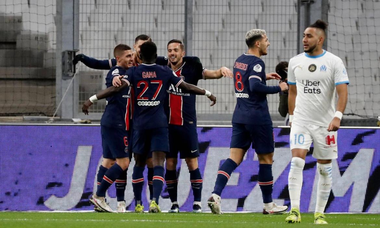 PSG memenangkan pertandingan Prancis klasik