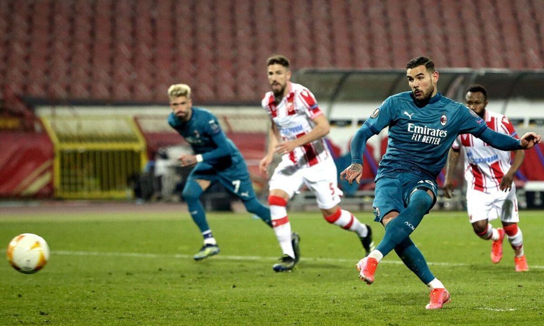 Milan melewatkan kemenangan di menit-menit terakhir