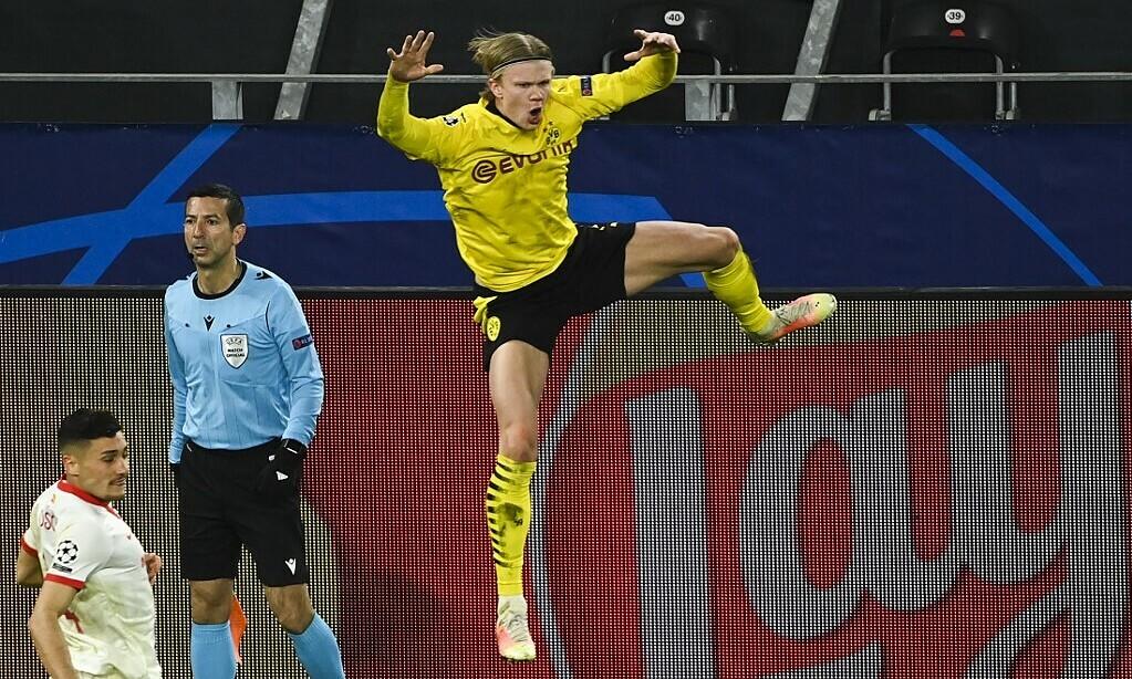 Dortmund menawarkan untuk menjual Haaland