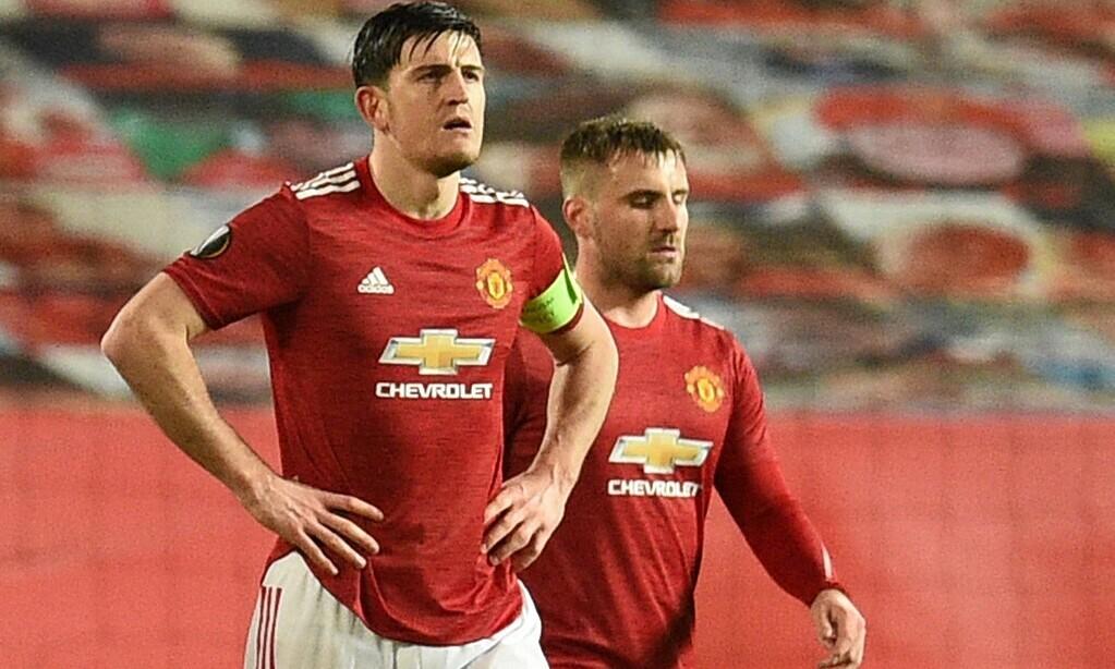 Solskjaer mendukung Maguire untuk meneriaki rekan satu timnya