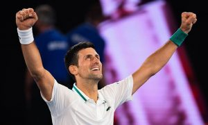 Djokovic: 'Semangat membantu saya mendapatkan legenda'