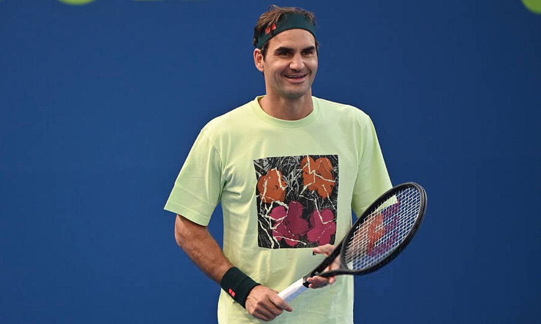 Federer – Evans: Perjalanan pertama