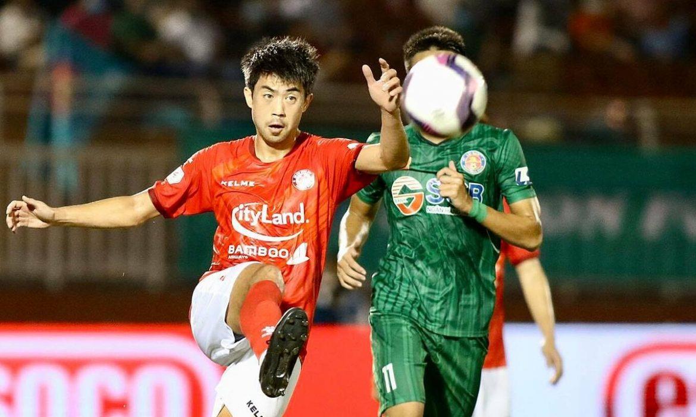 Lee Nguyen membantu Kota Ho Chi Minh memenangkan derby