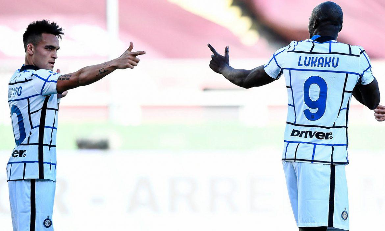 Inter memenangkan pertandingan kedelapan berturut-turut