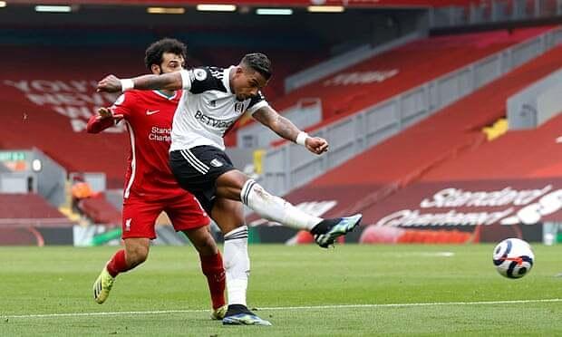 Liverpool kalah dalam pertandingan kandang keenam berturut-turut
