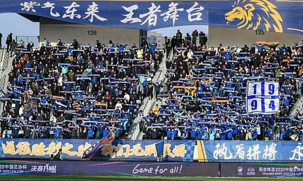 Kehancuran penting sepakbola Tiongkok