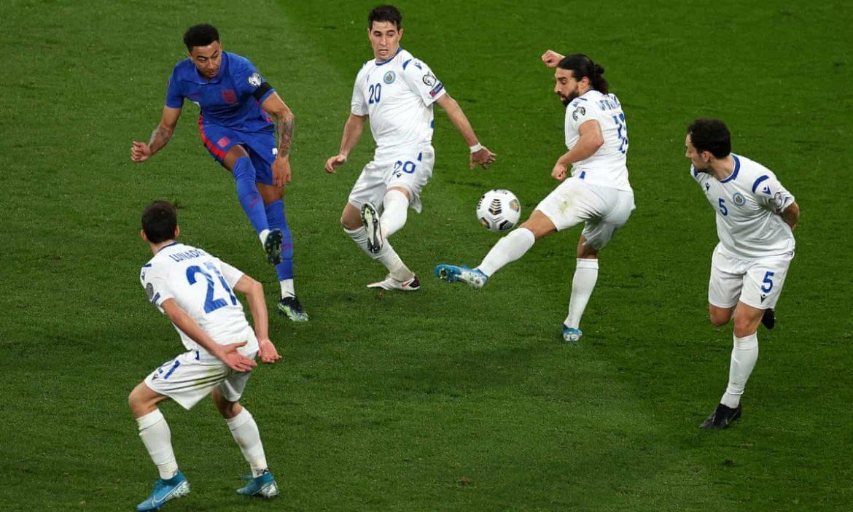 Inggris Raya memenangkan pertandingan kualifikasi Piala Dunia