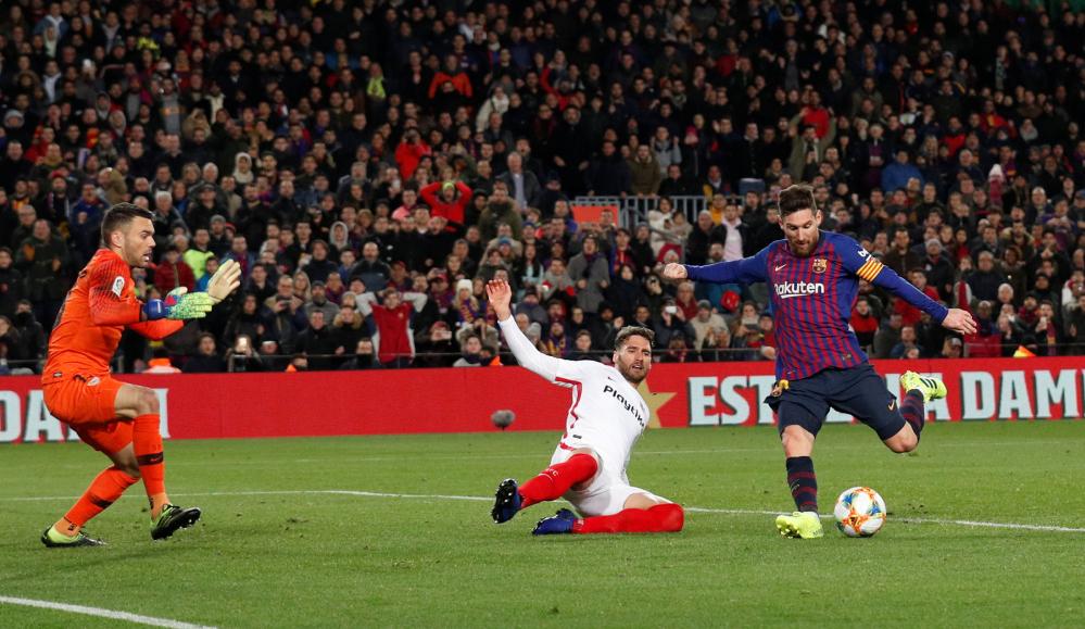 Barca memenangkan 81% pertandingan dengan Messi di Camp Nou