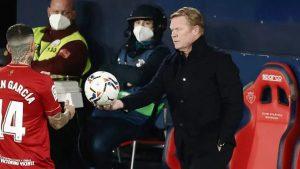 Koeman: 'Barca akan pergi ke Paris untuk mendapatkan hasil yang bagus'