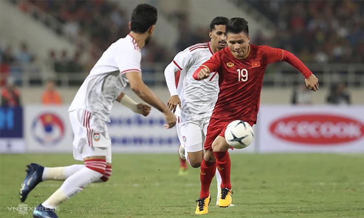 Vietnam memulai kualifikasi Piala Dunia di UEA