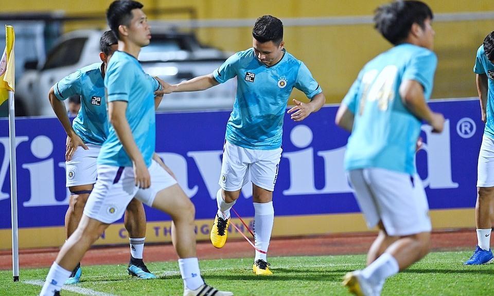 Ha Noi 0-1 Ha Tinh (babak pertama): Tuan Hai membuka skor