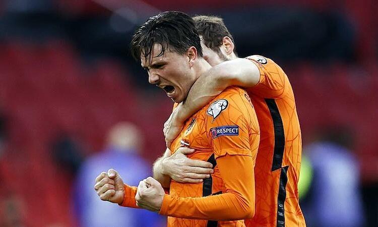 Belanda memenangkan pertandingan pertama di kualifikasi Piala Dunia