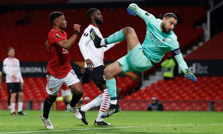 Man Utd menang melawan Milan