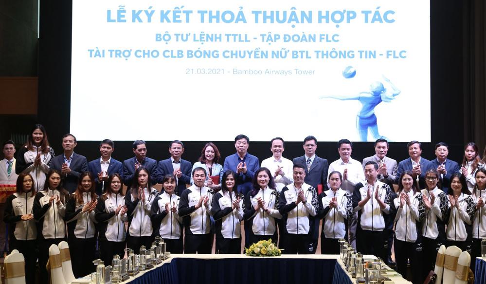 Klub Bola Voli Wanita Vietnam menerima rekor sponsor