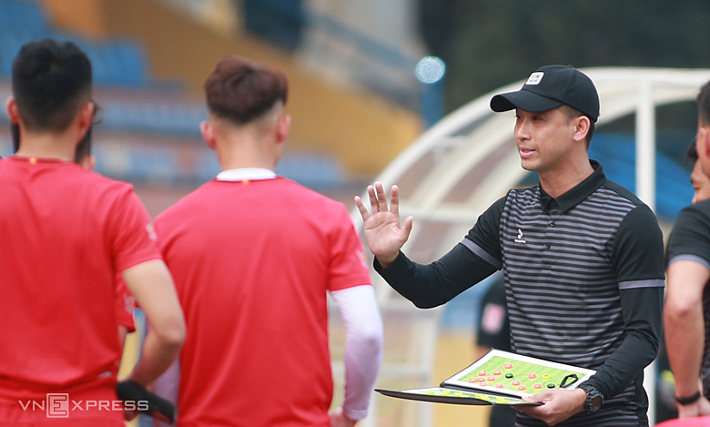 Vu Nhu Thanh: 'Itu memusingkan sebagai pelatih'