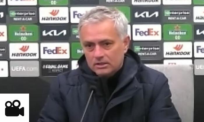 Mourinho menyiratkan bahwa pemain Tottenham itu tidak patuh