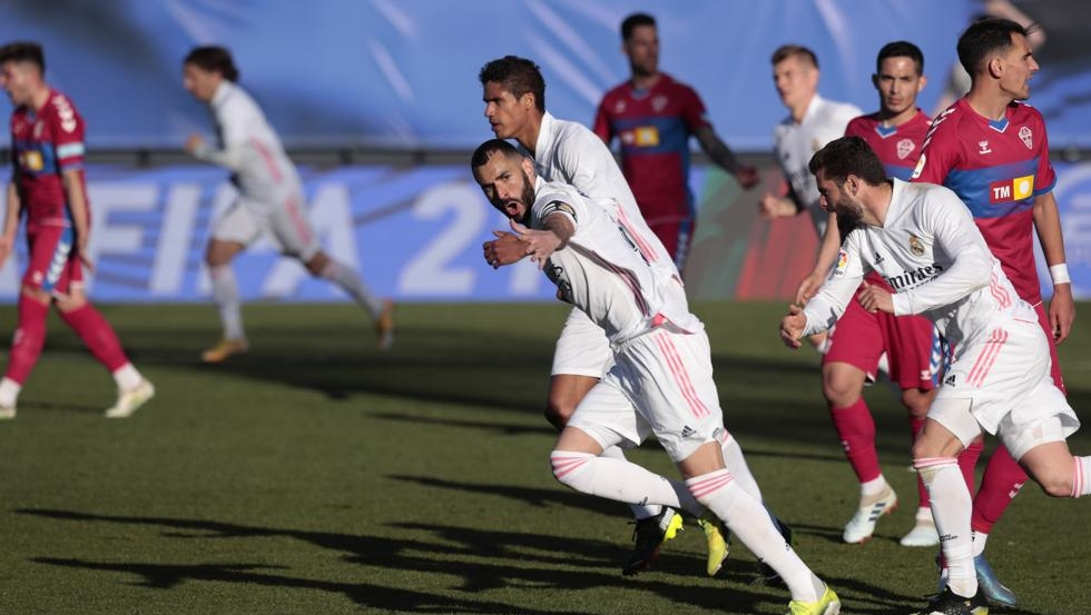 Benzema membawa Real ke Barca
