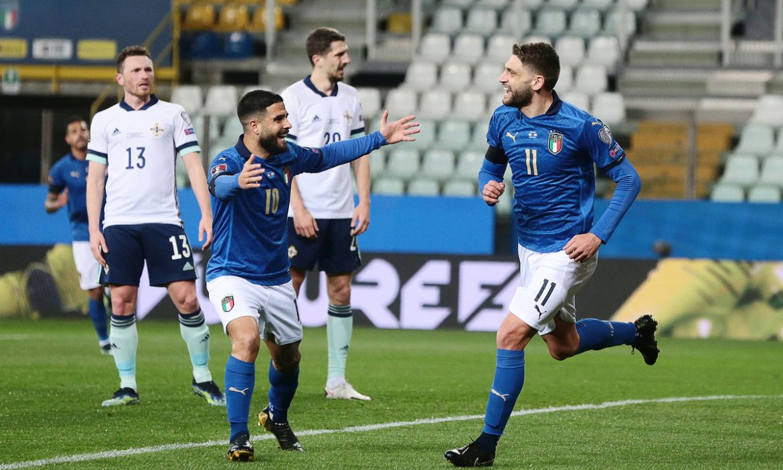 Italia memperpanjang rekor tak terkalahkan menjadi 21 pertandingan