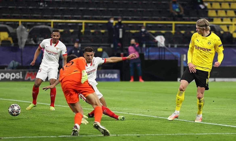 Haaland menarik Dortmund ke perempat final Liga Champions