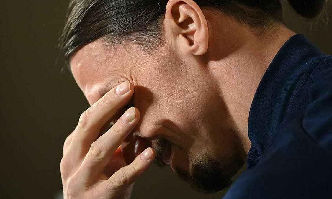 Ibrahimovic menangis karena merindukan anaknya