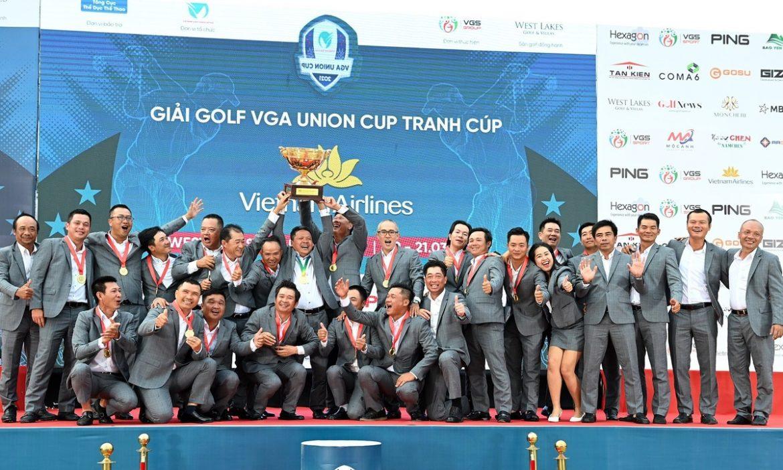 Tim Vietnam Selatan memenangkan VGA Union Cup 2021