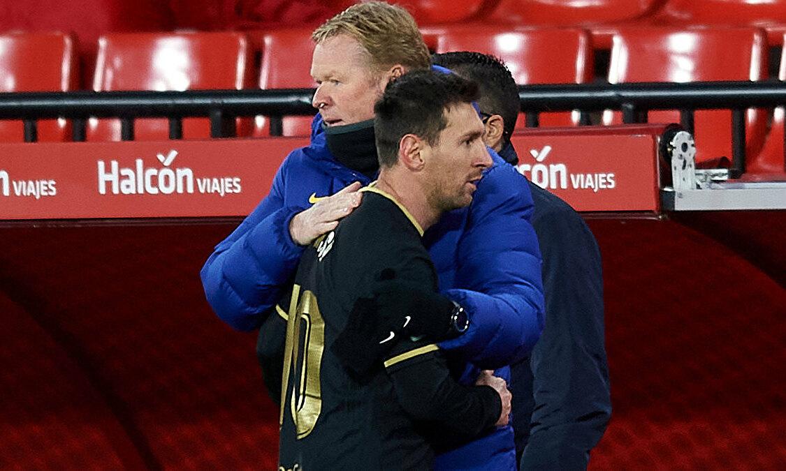 Koeman: 'Messi bisa memutuskan segalanya'