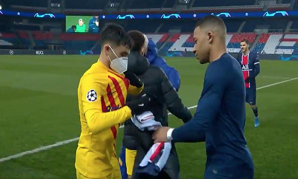 Mbappe tidak mengganti kaos dengan Messi