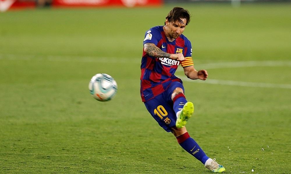 Semedo: 'Messi tidak berlatih tendangan bebas'