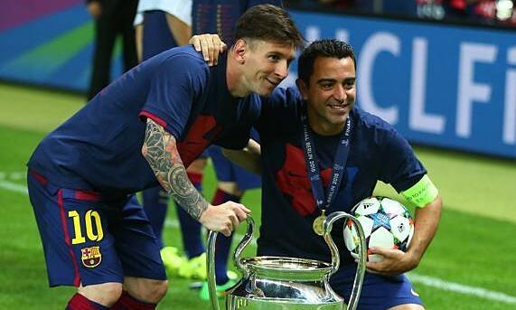 Xavi: 'Saya merasa terhormat bisa dilampaui oleh Messi'