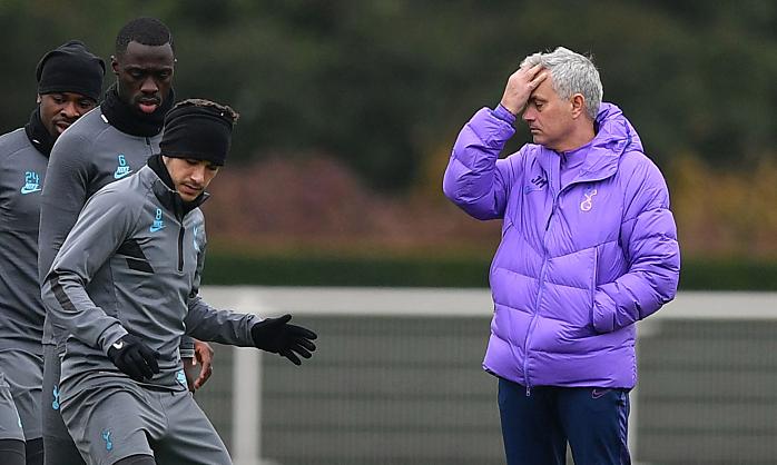 Mourinho sedang mencari 'mata-mata' di Tottenham