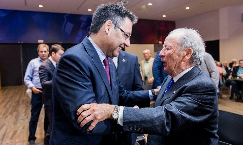 Tiga dari lima presiden Barca terakhir ditangkap