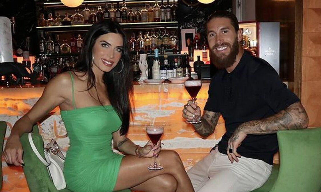 Ramos memberikan gol ulang tahun istrinya