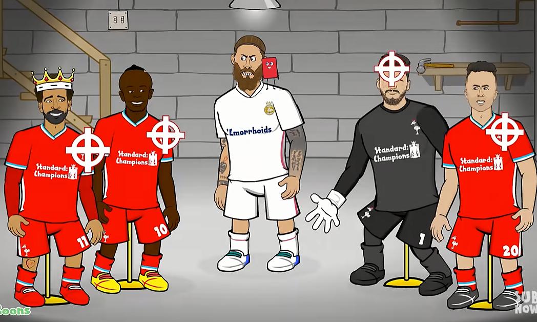 Reaksi lucu cabang Liga Champions