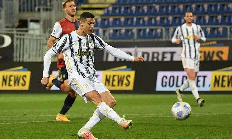 Ronaldo mencetak hat-trick dalam 22 menit