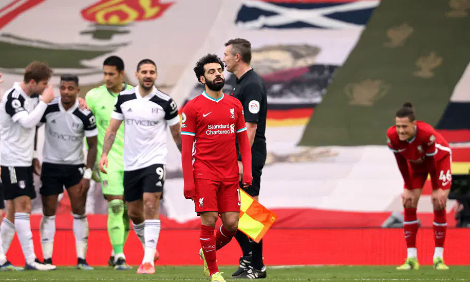Liverpool menyelesaikan 115 tembakan tanpa gol di Anfield